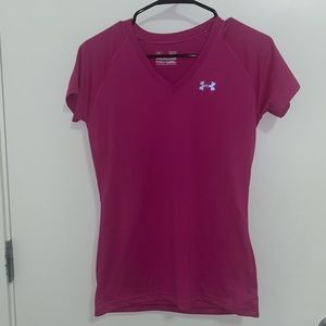 Pink Under Armour Top